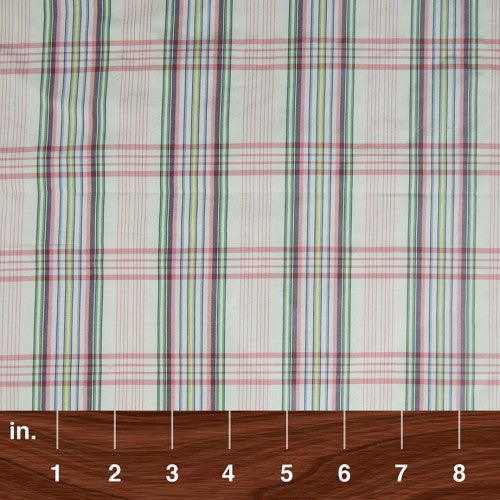 Multi-color Thin Plaid Pattern