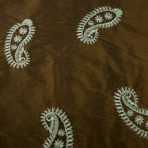 Silk Shantung Embroidery 018
