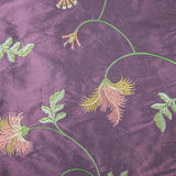 Silk Shantung Embroidery 040