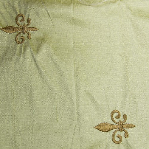 Silk Shantung Embroidery 032