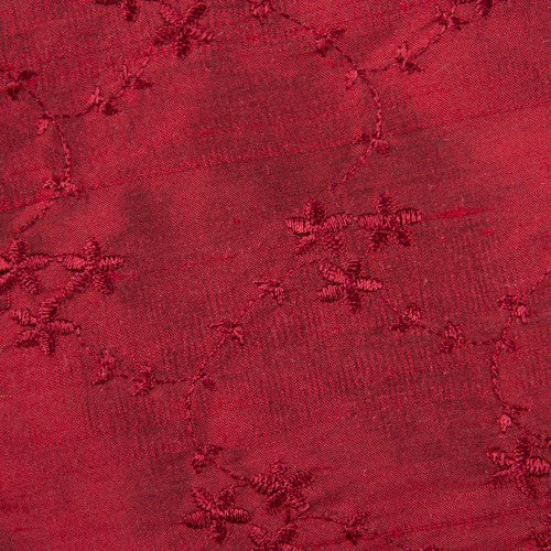Silk Shantung Embroidery 046