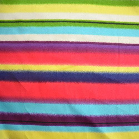 Multi-colored Stripes Cotton Prints