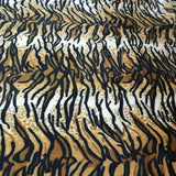 Tiger Print Faux Fur