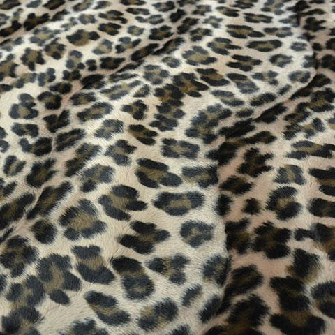 Cheetah Print Faux Fur