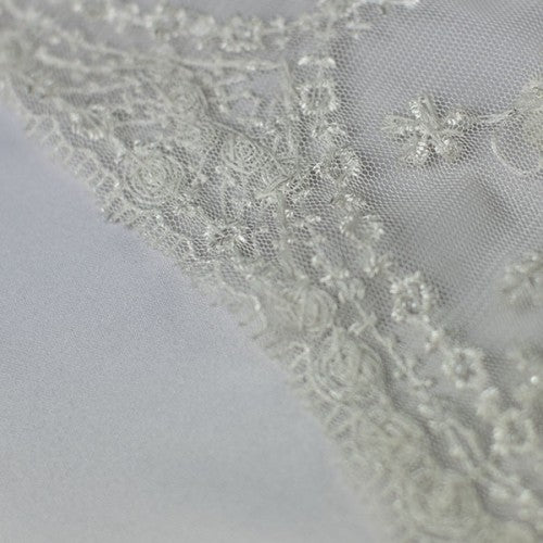 Intricate Embroidery Lace Fabric