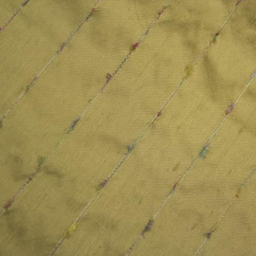 Thread Stripe Silk Shantung
