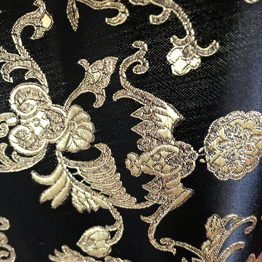 Metallic Cross Design Brocade