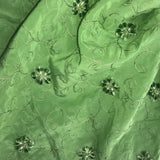 Chenille Flower Silk Embroidery