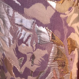 Abstract Shapes with Gold Brocade