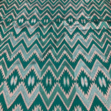 Zig Zag Lace Pattern with Pearl Handwork