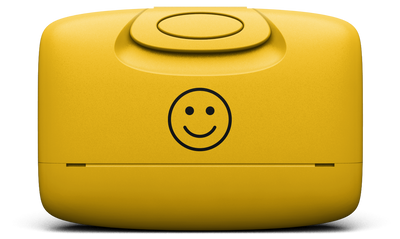 Warm Yellow / Happy Face / Front