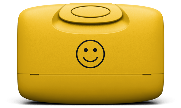 Happy Face | Warm Yellow
