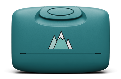 Ocean Teal / Mountains / Front