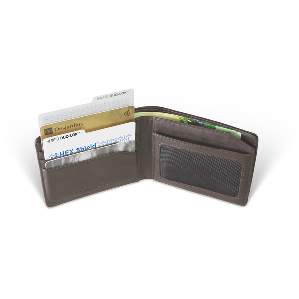 DUO-LOK™ RFID protection for wallet