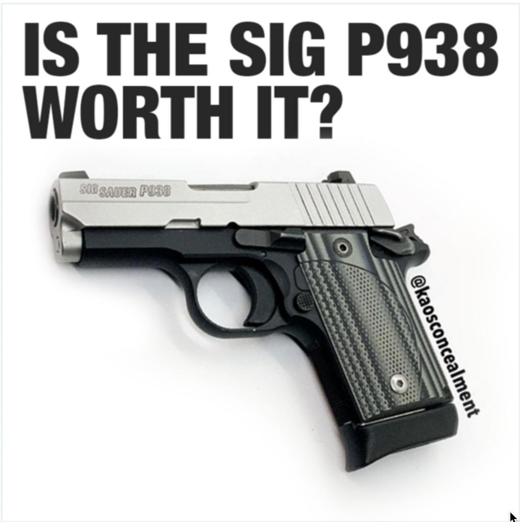 Sig P938 Viable For Concealed Carry? | Kaos Concealment®