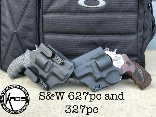S And W >> Kaos Concealment Holsters S W 627pc And 327pc Concealed Carry Holster