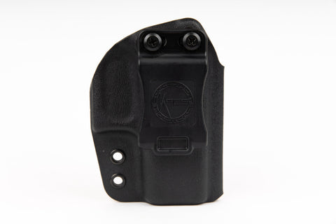 The best concealed carry holster compatible with Glock 42 and Glock 43, optic ready kydex holster for IWB and OWB concealment