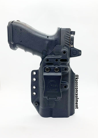 Glock 9/40 W/Streamlight TLR-1HL Kaos Fusion Torch Kydex Holster