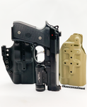 Beretta 92G Elite LTT W/Streamlight TLR-1HL Kaos Fusion Torch Kydex Holster