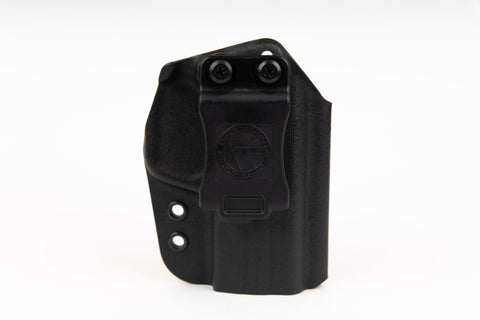 The best concealed carry M&P 40  holster - fits M&P 9 and M&P 45 - optic ready kydex holster for IWB and OWB concealment