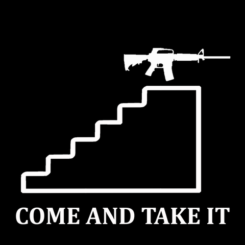 Biden Stairs-Come and Take It