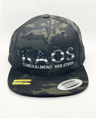 Kaos Snap Back(flat bill)