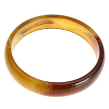 Load image into Gallery viewer, Onyx Crystal Hand Carved Bangle