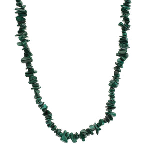 "Malachite Crystal Jewellery 24"" Necklace"