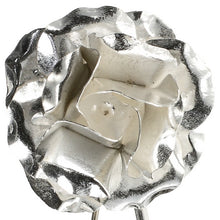Load image into Gallery viewer, Rose Silver Brooch