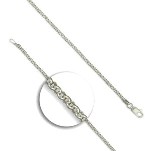 Heavy Silver Link Chain 36 inch
