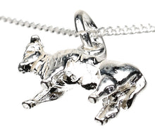 Load image into Gallery viewer, Taurus the Bull Silver Charm