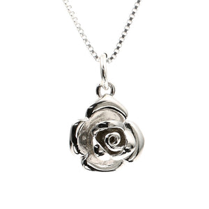 Rose of Love Sterling Silver Charm - Clip or Chain available