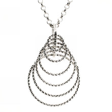 Load image into Gallery viewer, Rings of Style Silver Pendant
