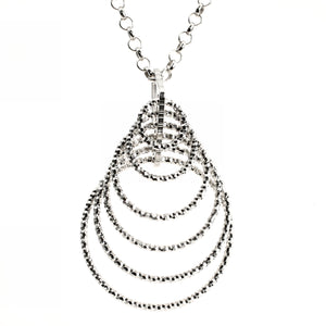 Rings of Style Silver Pendant