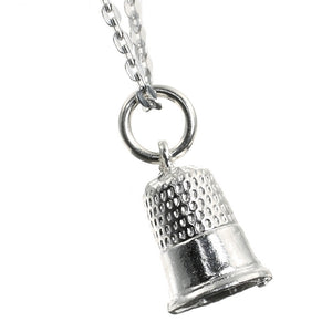 Sewing Thimble Sterling Silver Charm