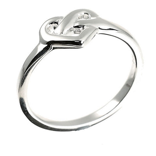 Celtic Love Knot Silver Ring