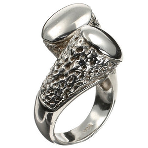 Luxury Duo Silver Ring