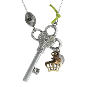 Steampunk Key to the Throne Necklace