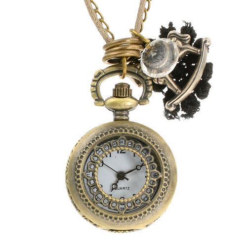 Steampunk Rocking Horse Pocket Watch Pendant