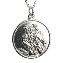 Load image into Gallery viewer, Sterling Silver Coin Pendant