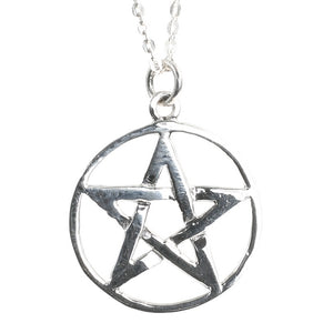Sterling Silver Pentangle Pendant