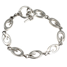 Load image into Gallery viewer, G is For Silver Bracelet
