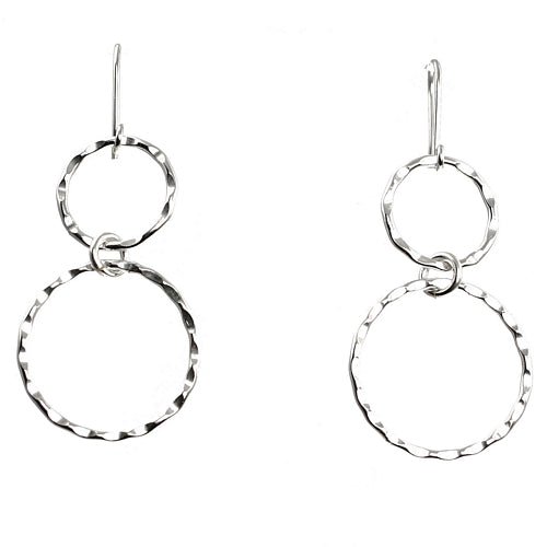 Duo Silver Earrings