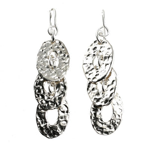 Reflections Silver Earrings