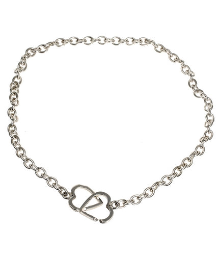 Hearts Forever Silver Necklace