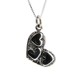 Sterling Silver Love Token Pendant