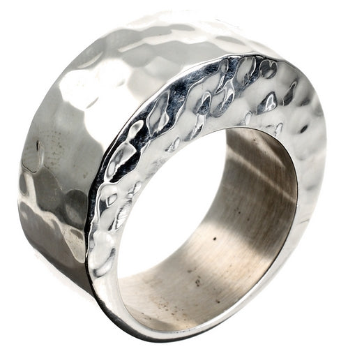 Solid Silver Arch Ring