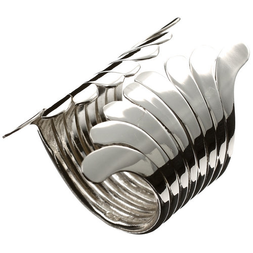 Silver Ring Fronds