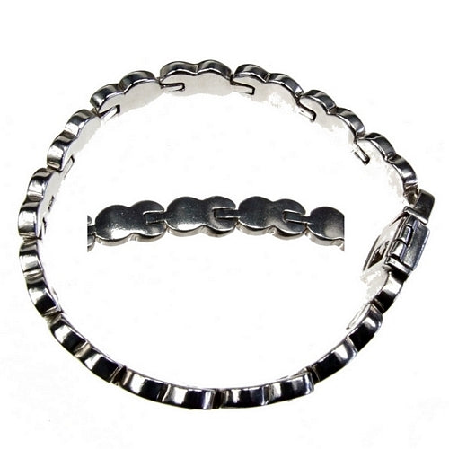 Lock and Key 925 Silver Bracelet