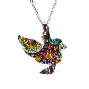 Psychedelic Bird Necklace Fashion Jewellery